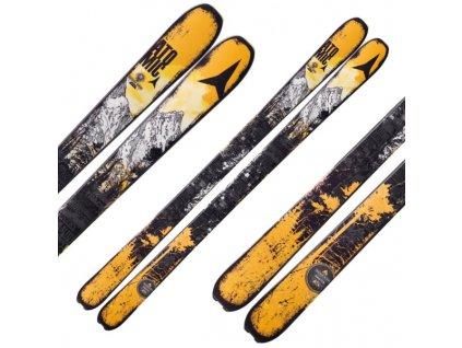 ATOMIC DRIFTER black/yellow 173 cm + vázání STH 13 WTR + stoupací pásy