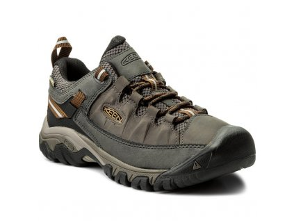 KEEN TARGHEE III WP M black olive/golden brown