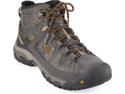 KEEN TARGHEE III MID WP M black olive/golden brown