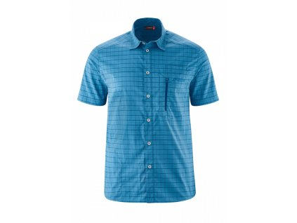 Košile MAIER SPORTS MATS S/S blue 2020