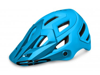 Cyklistická helma R2 TRAIL - modrá/matná