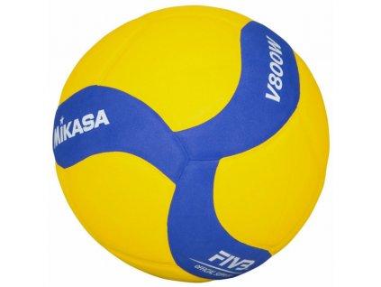 Volejbalový míč MIKASA V800W Yellow/blue
