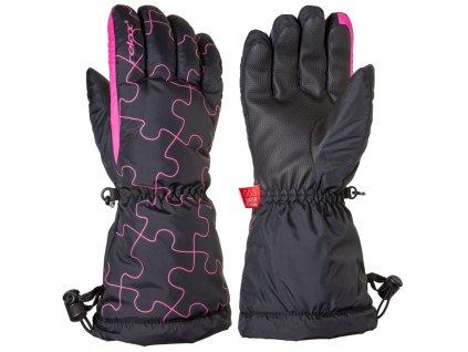 Lyžařské rukavice RELAX PUZZY