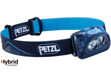 Čelovka PETZL ACTIK blue