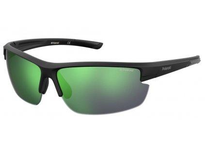 Sluneční brýle POLAROID PLD 7027/S Matte Black/Grey MLT Green 2020