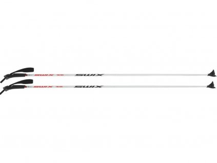 Běžkařská hůl SWIX Touring Perfor white/black/orange 19/20