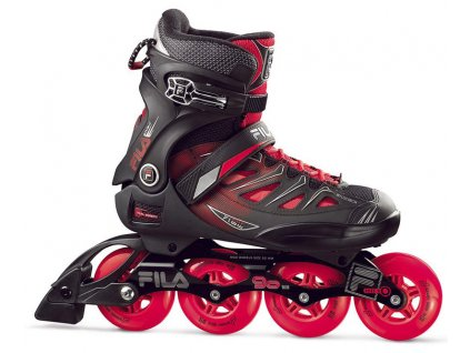 Brusle inline FILA GHIBLl 90 black/red