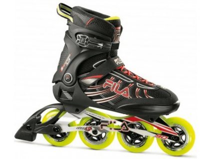 Brusle inline FILA SHADOW LX black/red/lime 2020