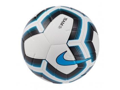 Fotbalový míč NIKE Strike Team Soccer Ball white/black/cyan 2020