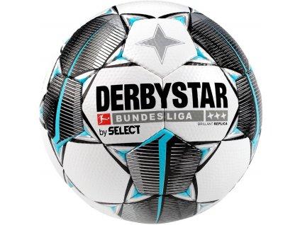 SELECT Derbystar Brillant Replica white/black/blue 5