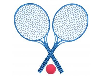 SPORTVEL Soft tenis - sada 2 ks raketa + 1 ks míček