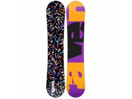 RAVEN SNOWBOARD GRID black 18/19