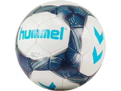 HUMMEL míč na futsal white/vintage indigo - 19/20
