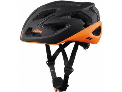 Cyklistická přilba KTM FACTORY TEAM black/orange matt