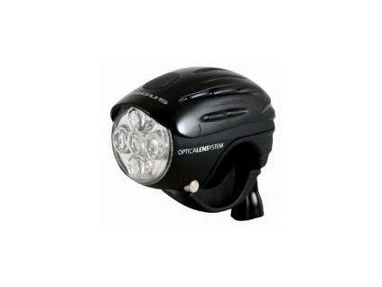 Přední světlo LONGUS 5LED, 4 funkce, black