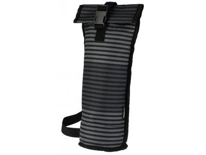 WINE Taška BAG pruhovaný šedý