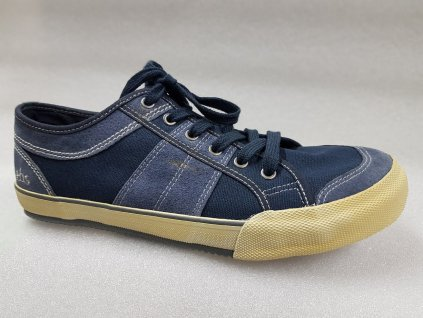TBS boty ABROAD navy