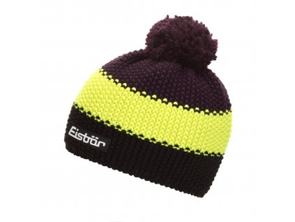 Čepice EISBÄR STAR NEON POMPON MÜ SP color 040