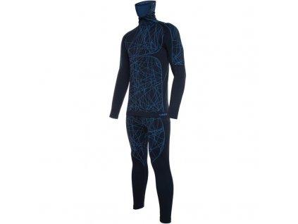 Funkční prádlo set VIKING TIMO MASK modrá -20/21