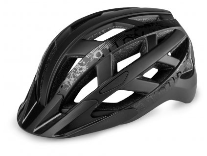 Cyklistická helma R2 LUMEN - černá/matná