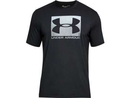 TRIKO UNDER ARMOUR BOXED - Sportstyle SS - black