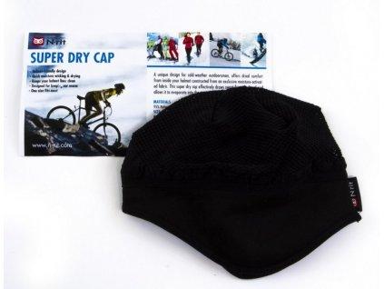 Chladivá vložka n-rit SUPER DRY CAP UNI-BLACK
