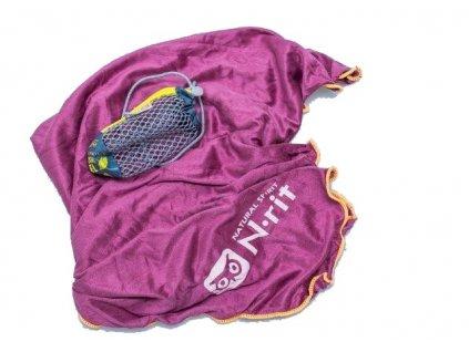 Funkční ručník N-RIT super ligth towel PURPUR