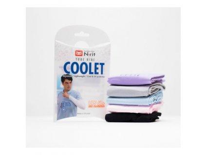 Chladivý rukáv N-RIT TUBE 9 COOLET uni white
