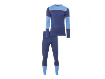 Prádlo funkční SET CRAFT BASELAYE men Dark blue/Blue/Orange