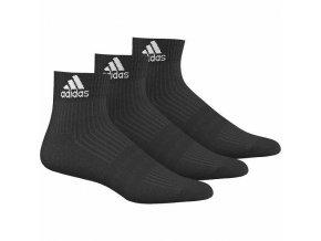 Ponožky ADIDAS ADI ANKLE HC 3 páry černé