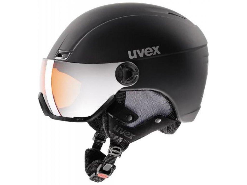 Uvex HLMT 400 VISOR černá 17/18