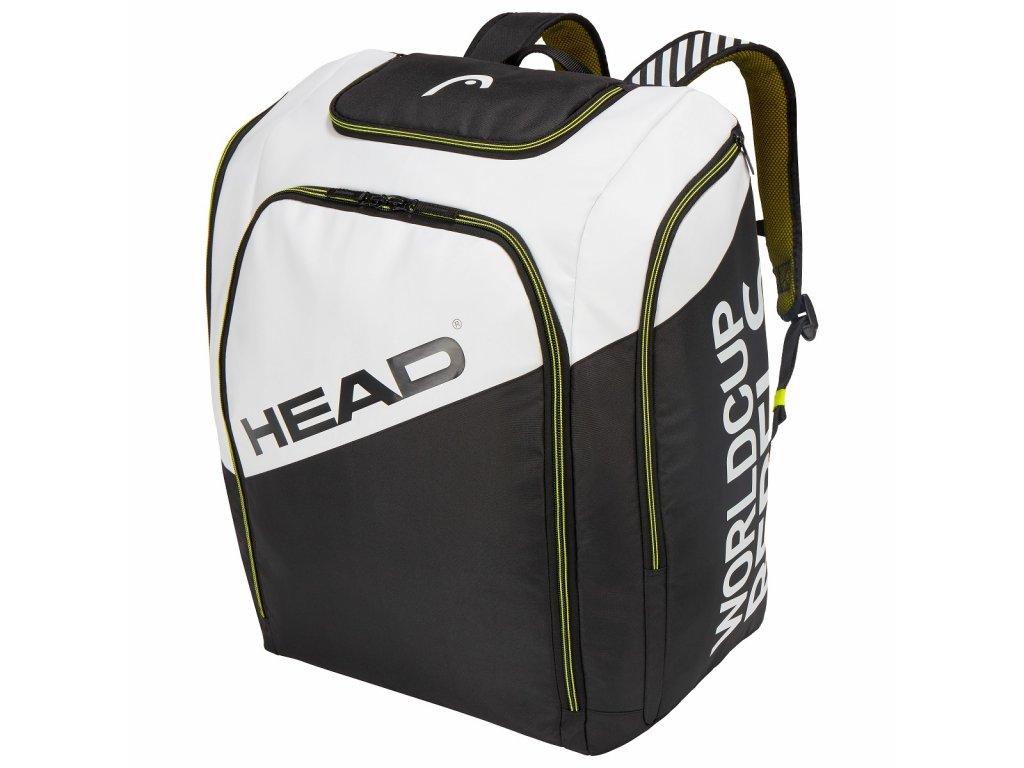 Head REBELS RACING BACKPACK bílá černá 19/20