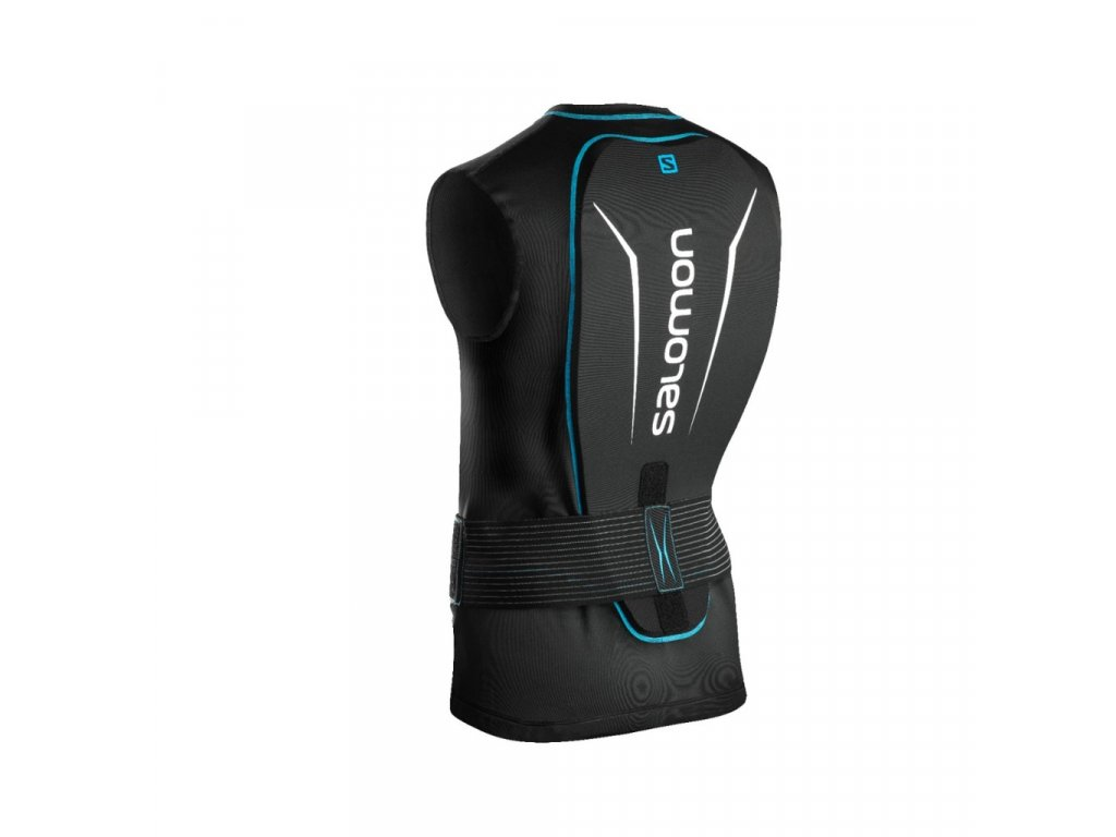 Salomon SECONDSKIN FLEXCELL SL black/blue 18/19