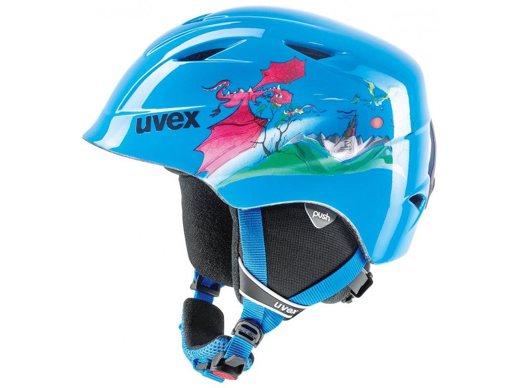 Uvex AIRWING 2 JR modrá 19/20