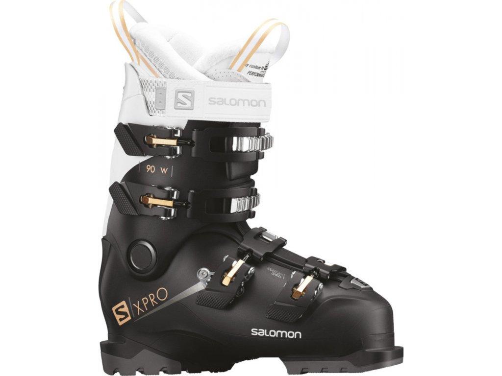 Salomon X PRO 90 W BLACK/WHITE/CORAIL 18/19