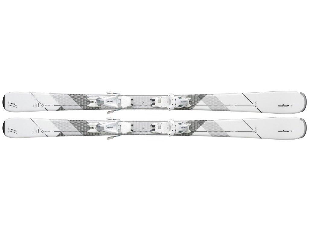 Elan Snow LS + EL7.5 white/grey 16/17