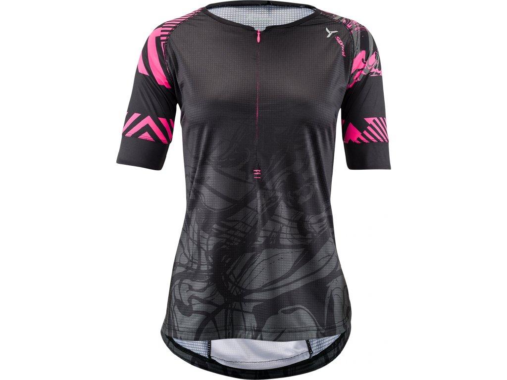 Sivlini Stabina WD1432 black-pink