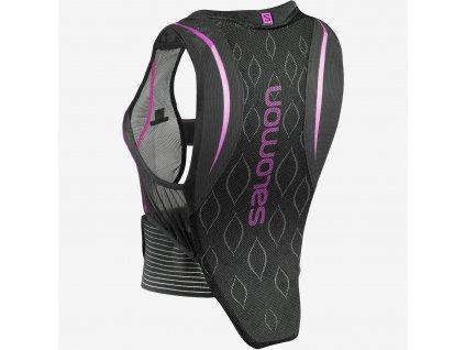 Salomon FLEXCELL black/purple 18/19