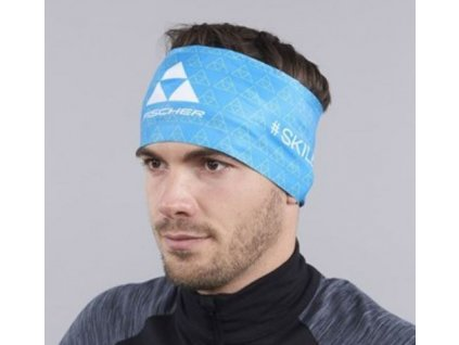 Fischer HEADBAND SKILETICS modrá 20/21