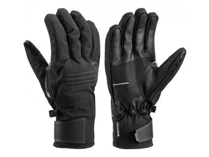 Leki Glove Progressive 5 S black 20/21