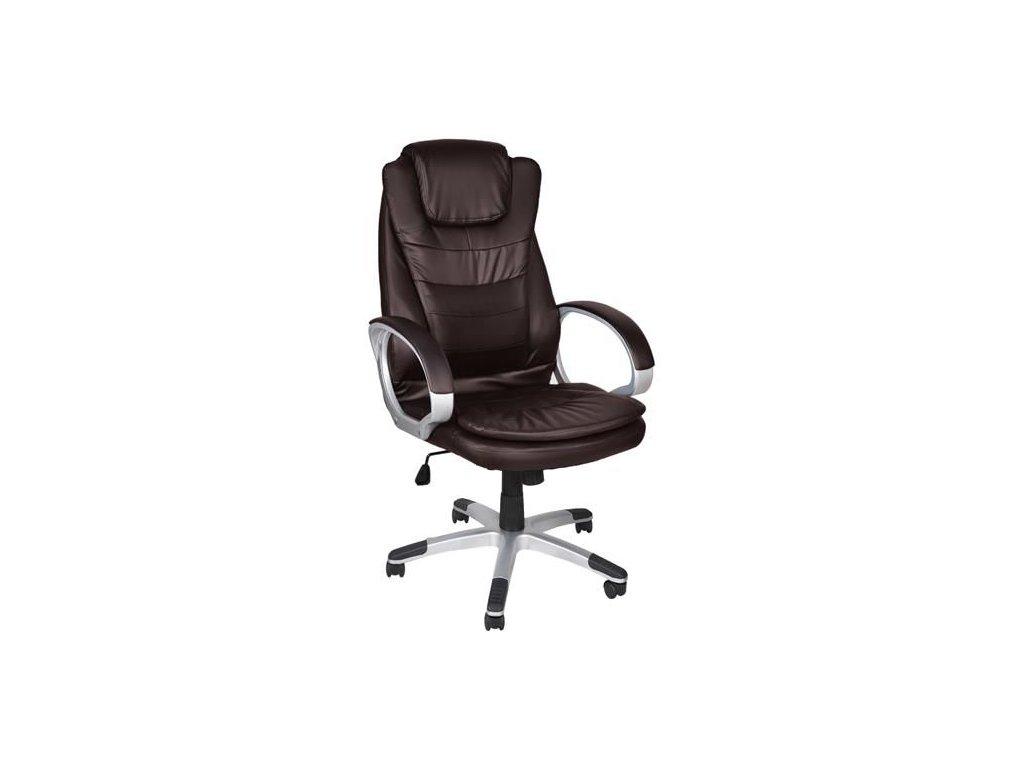 pol pl Fotel biurowy skora eko brazowy 11721 2