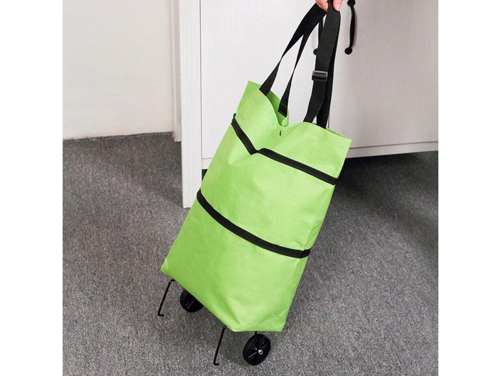 Multifunkční nákupní taška s kolečky W201