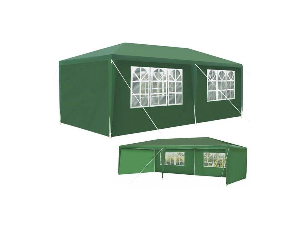 pol pl Pawilon ogrodowy 3x6m zielony P5519 12400 4