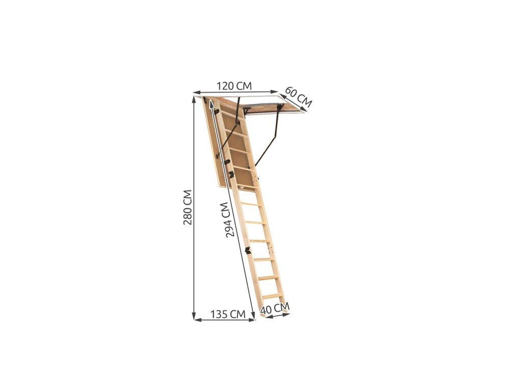 pol pl Schody strychowe 120x60 6380 4