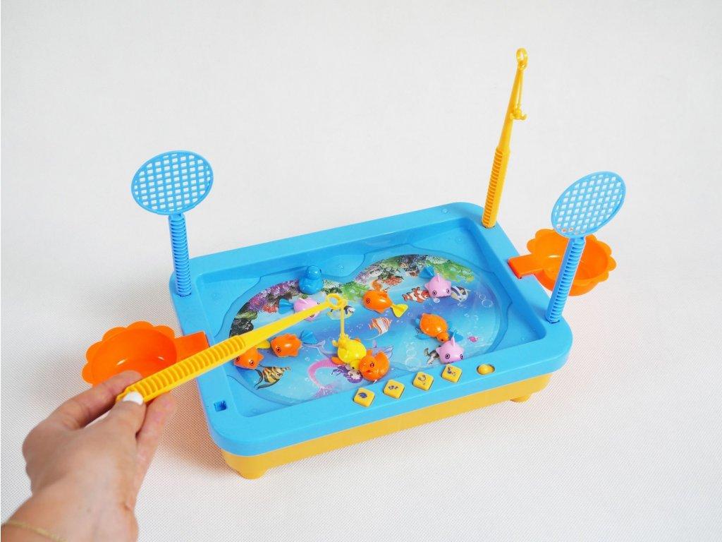 Hra - chytni si rybu Q411