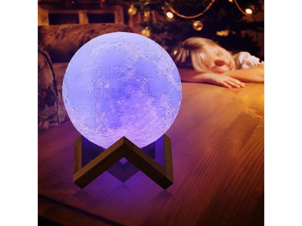 Lampička - barevný Měsíc J103