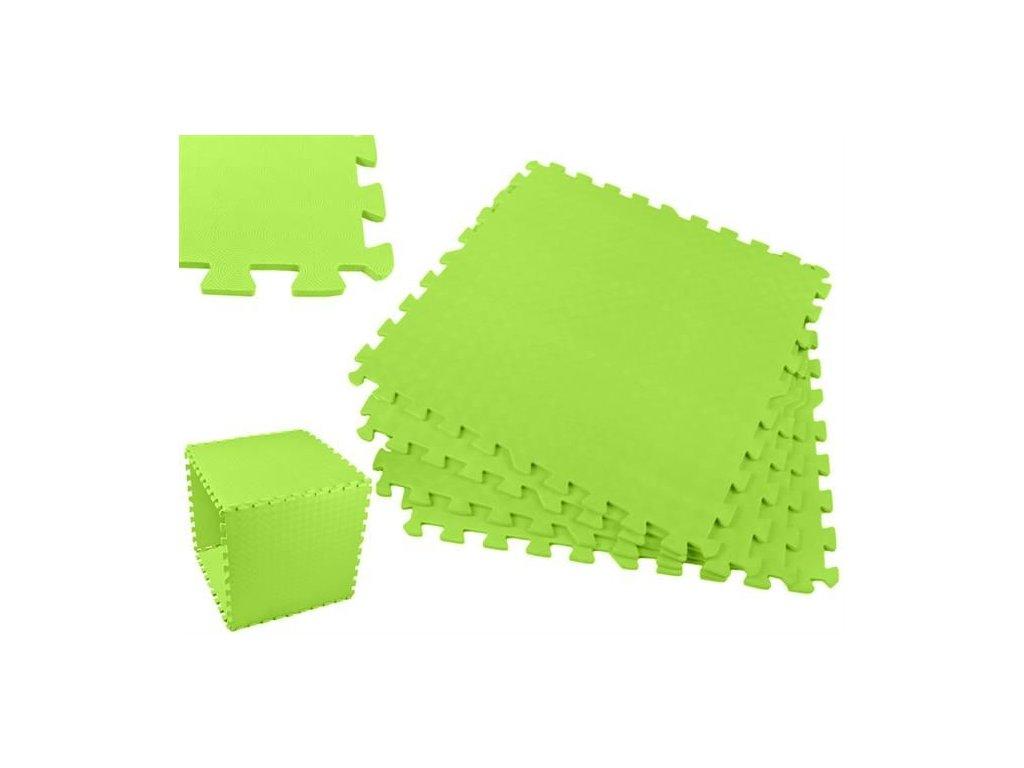 pol pl Puzzle piankowe 60x60cm 4el zielone 11699 1