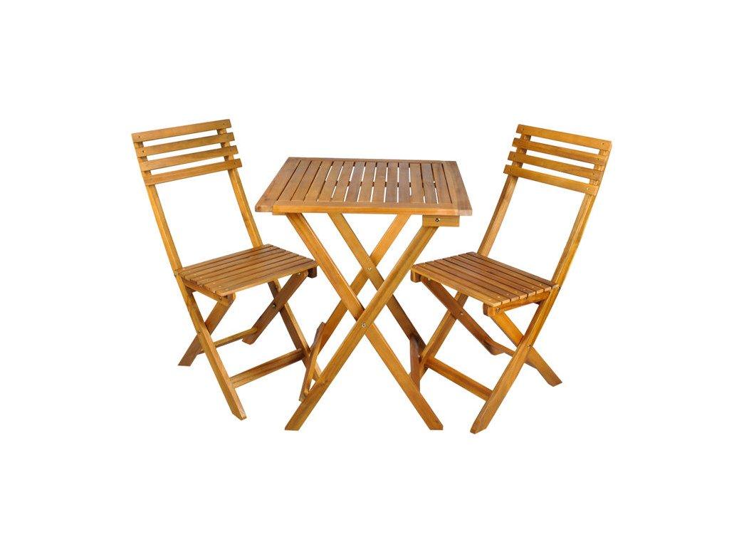 pol pl Stolik 2 krzesla zestaw mebli drewnianych 12668 12