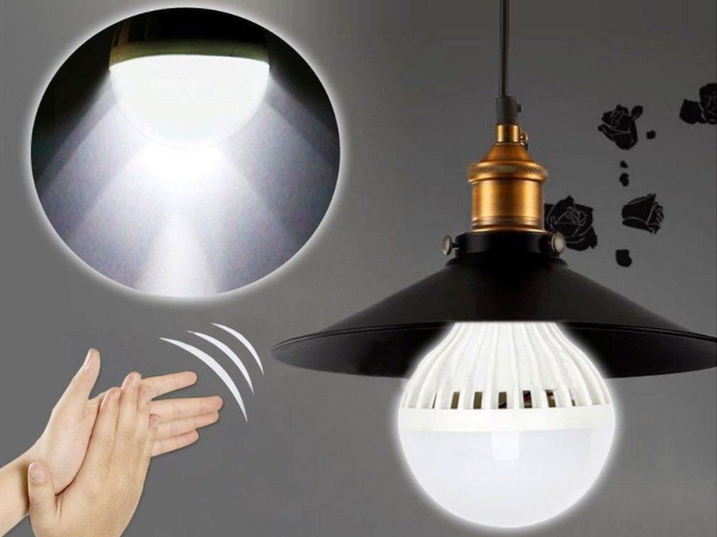 Žárovka na tlesknutí Z207