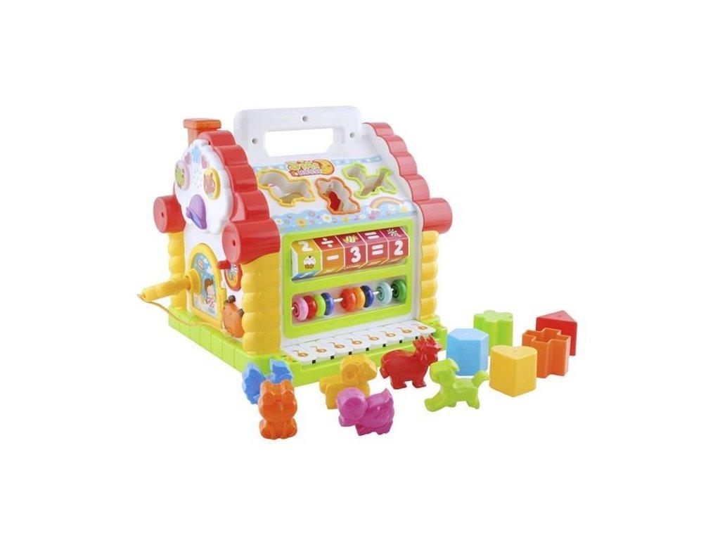 Huile Toys, 4506 Interaktivní multifunkční domeček se zvukem
